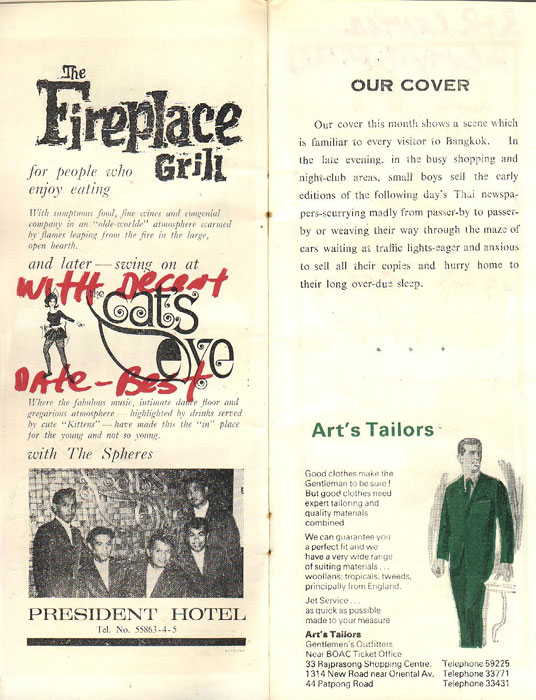 Bangkok After Dark Magazine from 1967 - Page 2