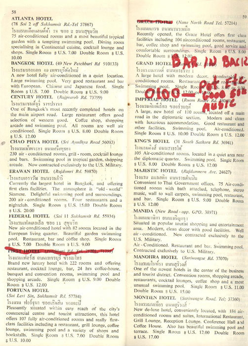 Bangkok After Dark Magazine from 1967 - Page 29