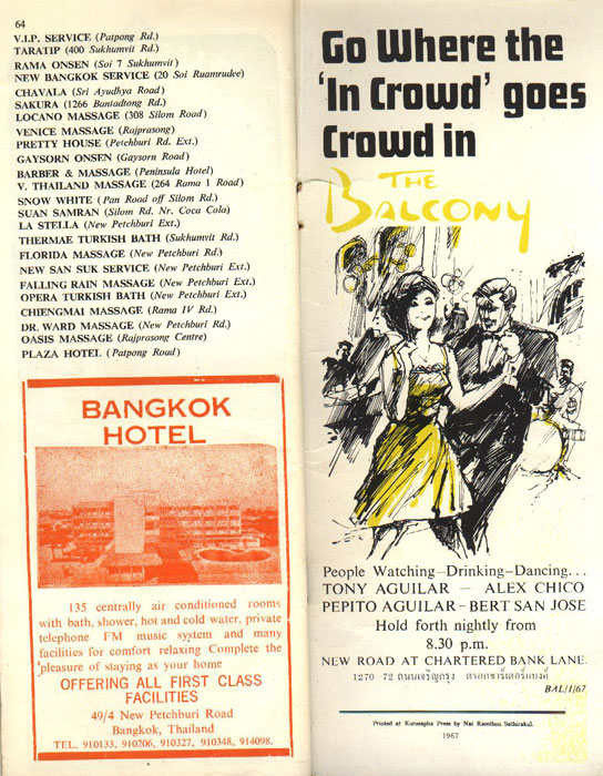 Bangkok After Dark Magazine from 1967 - Page 32