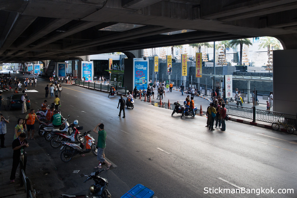 Protest 2013 Bangkok Bangkok Protests Siam Square