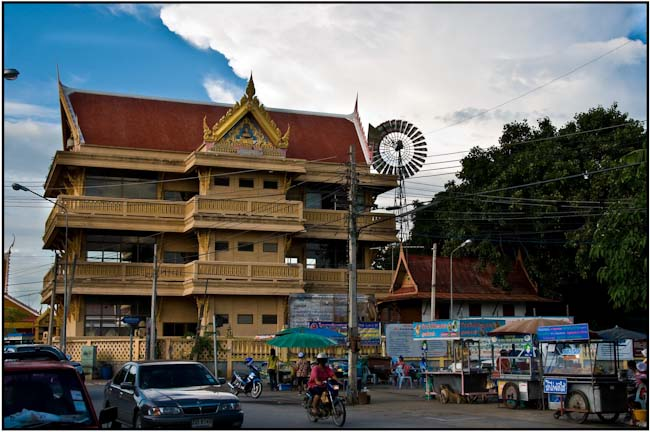 Suphanburi was home to a couple of interesting structures