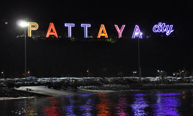 Pattaya neon sign