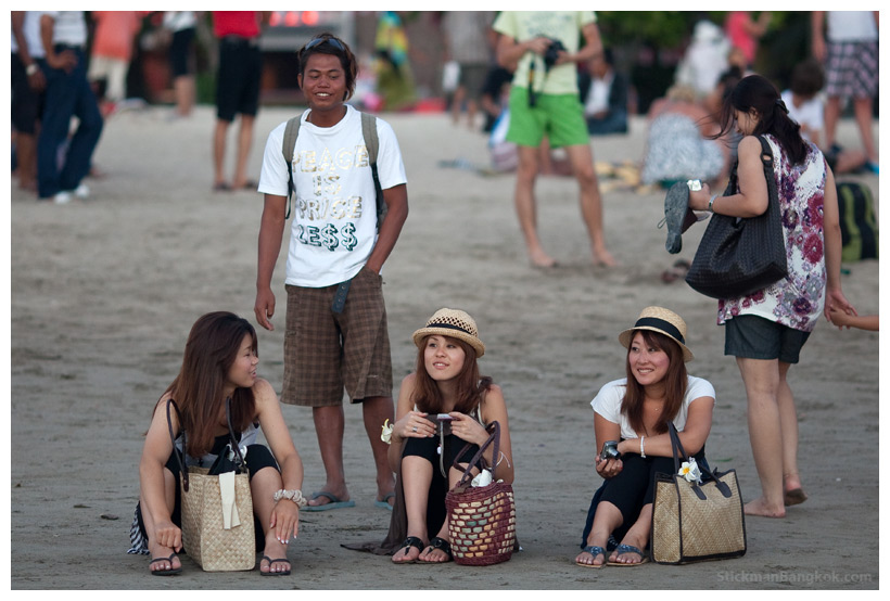 Japanese Girls In Beach