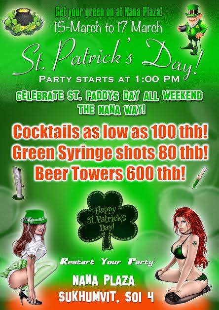 St Paddy's Day Bangkok