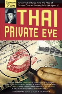 Book cover of Thai Private Eye