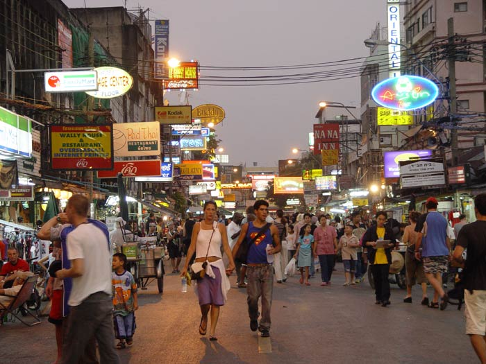 Khao Sarn Road is best visited at night...it just isn't the same by day.