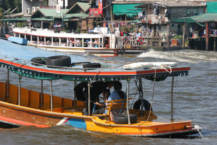 Boats on the Chao Praya River in Bangkok, one of my favourites spots and a great place to just get away from it all.