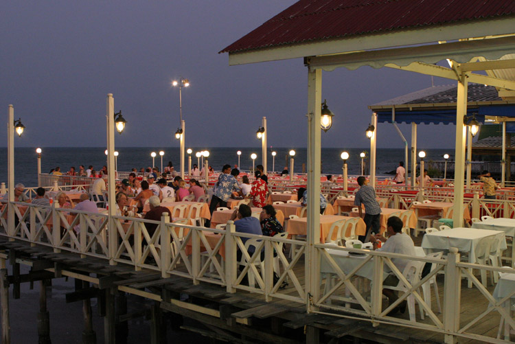 One of the many excellent seafood restaurants in Hua Hin. My preferred venue is