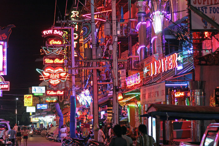 Soi Pattayaland 2 - looks great with all that neon ,but I'm not a fan of the bars in that soi.