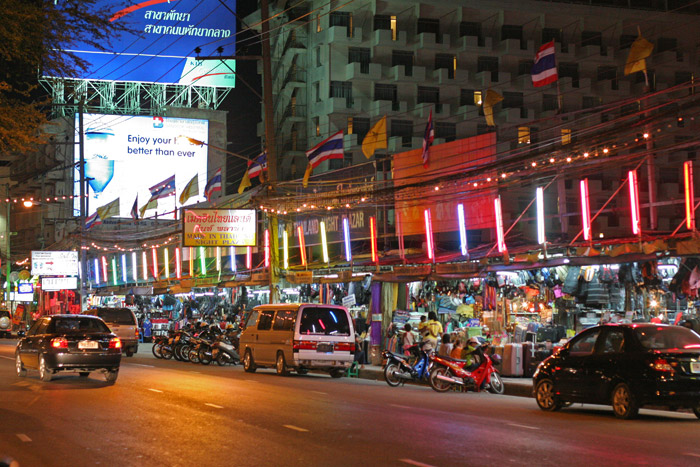The Second Road in Pattaya, a spot where there is always something or other happening.