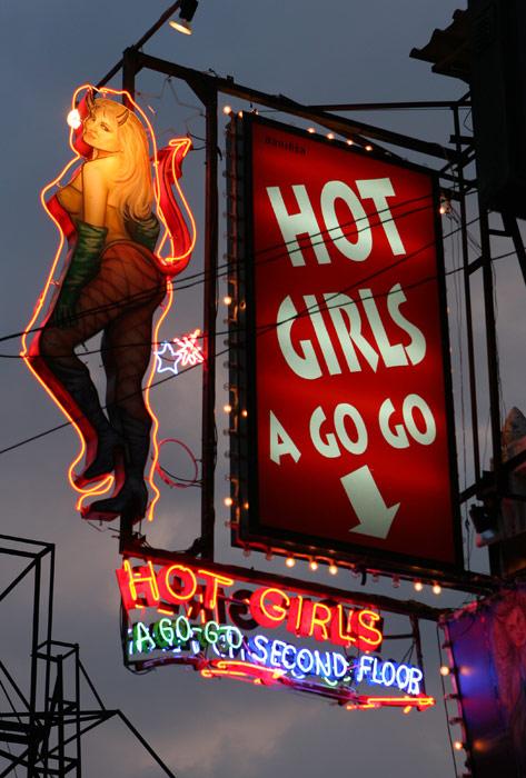 My favourite neon sign on Walking Street.