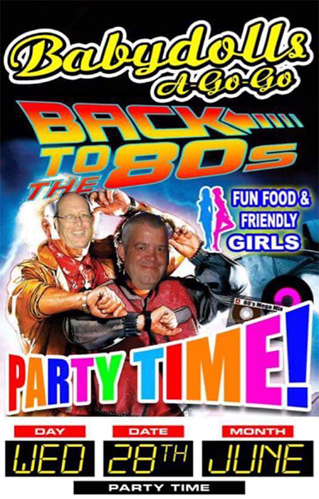 babydolls-pattaya-80s-party