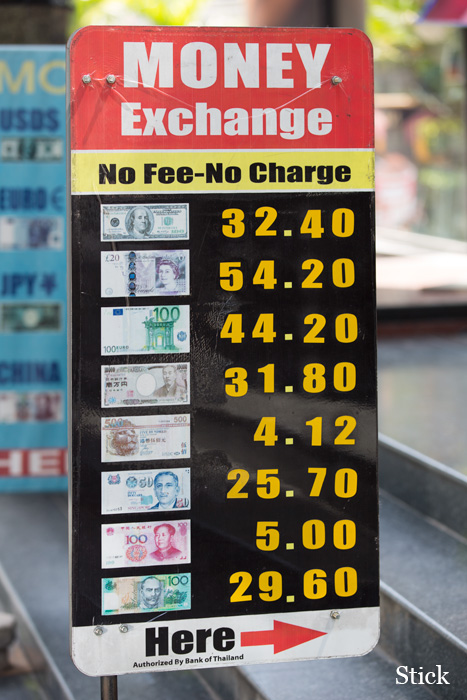 Thai forex rates