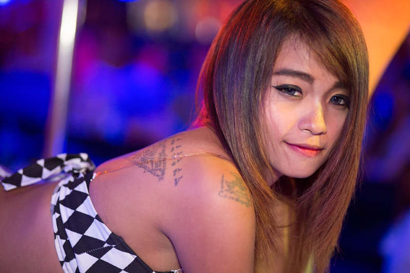 Bangkok gogo bar dancer