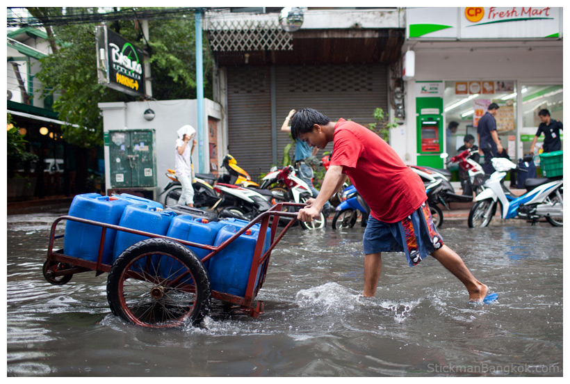 Bangkok flooding