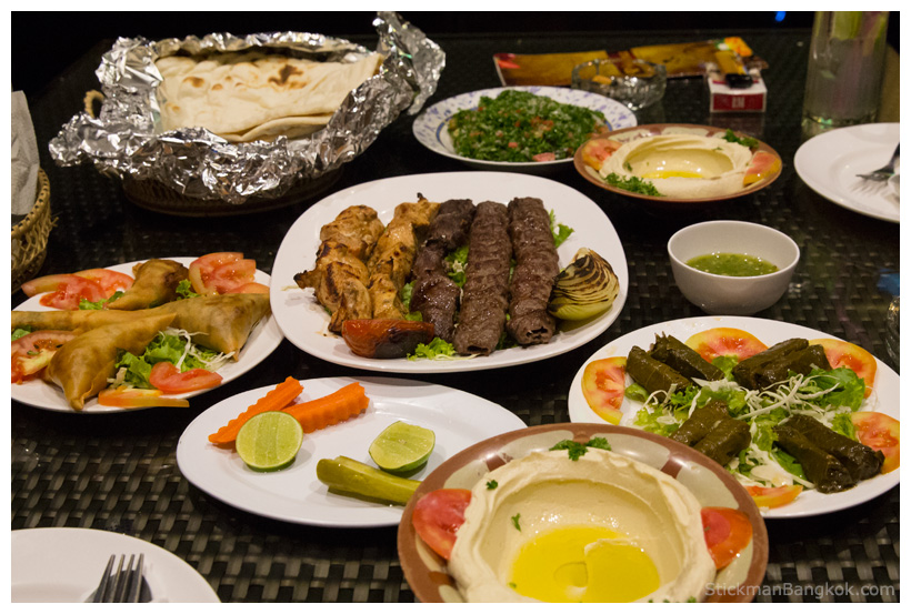Middle Eastern food, Bangkok