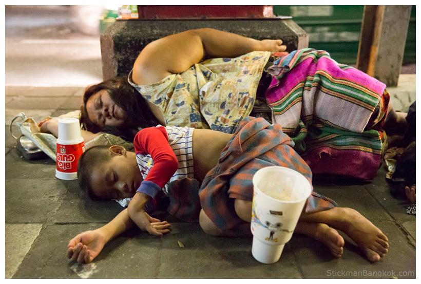 beggar Bangkok