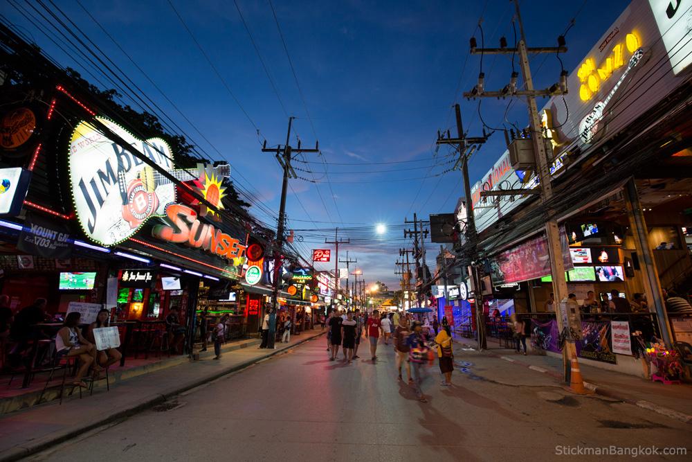patong phuket s party zone stickman bangkok. Black Bedroom Furniture Sets. Home Design Ideas