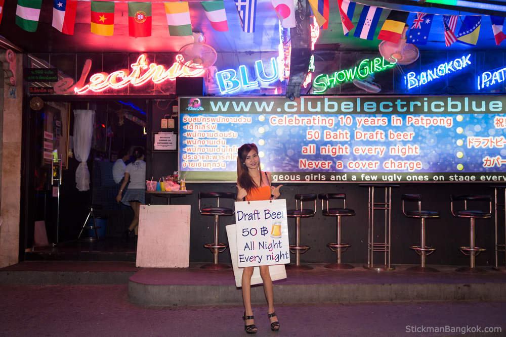 Club Electric Blue, Patpong, Bangkok
