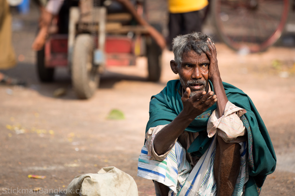 Calcutta homeless