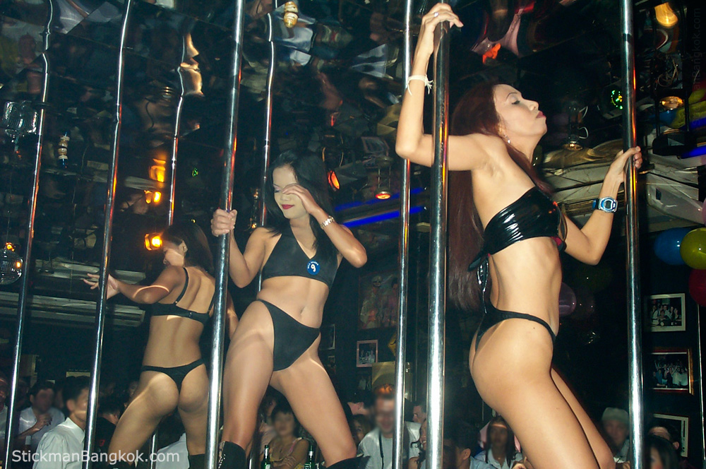 Bangkok gogo bar dance contest