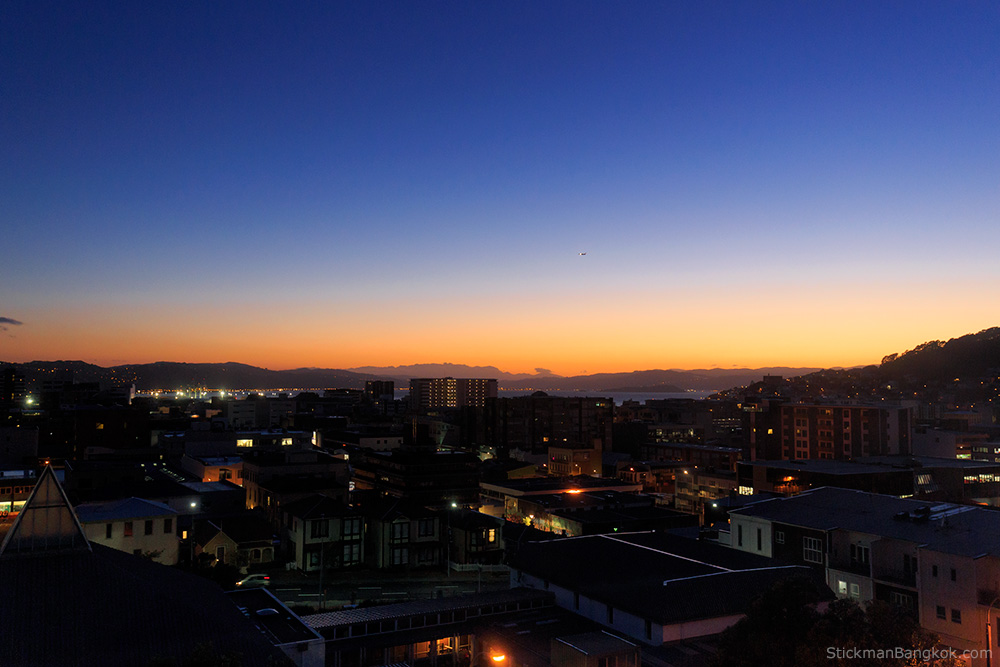 sunrise, Wellington, New Zealand