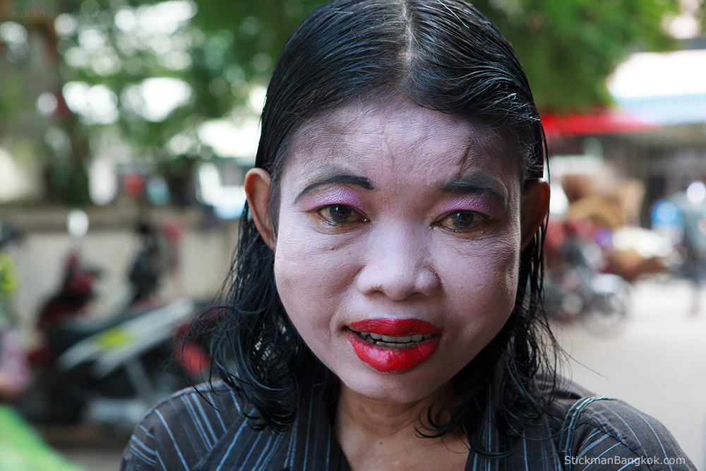 Pattaya ghost woman