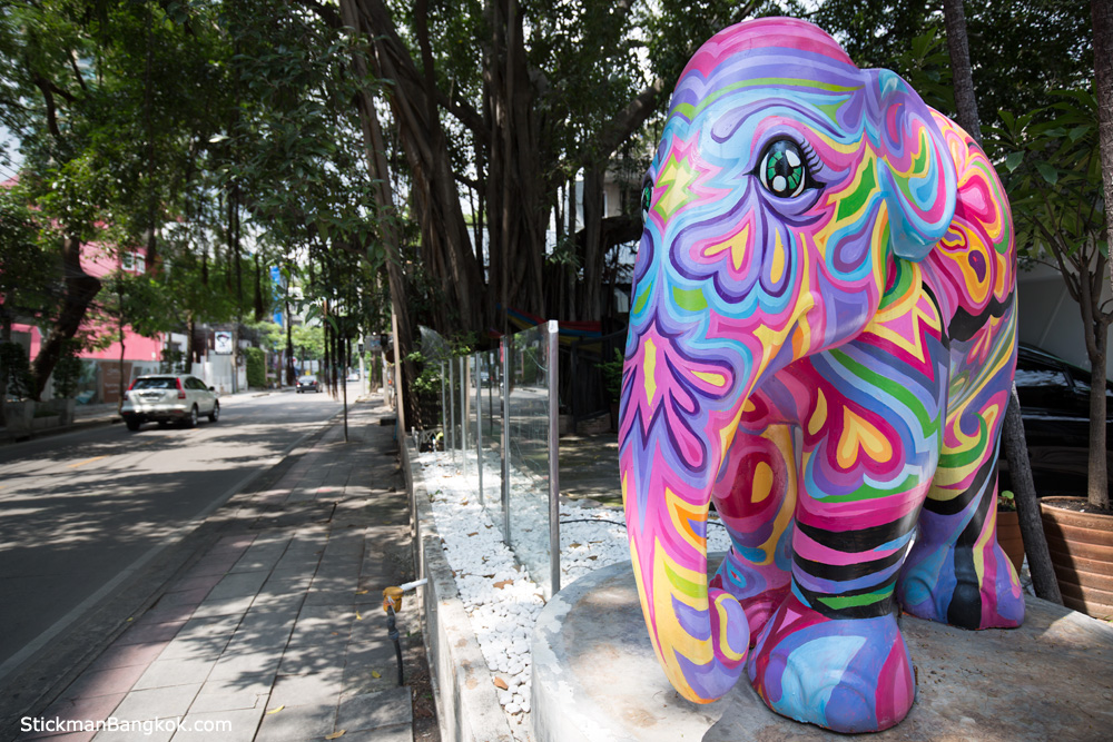 elephant in Bangkok