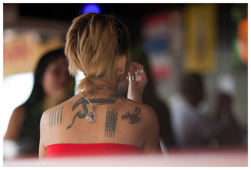 418 Am By Sm Tattoo Girl Back Tattoo Girl Drawing Tattoo Girl Face Tattoo Girls Thai Tattoo Women No Comments