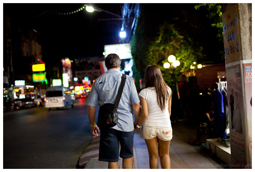 Thai farang couple