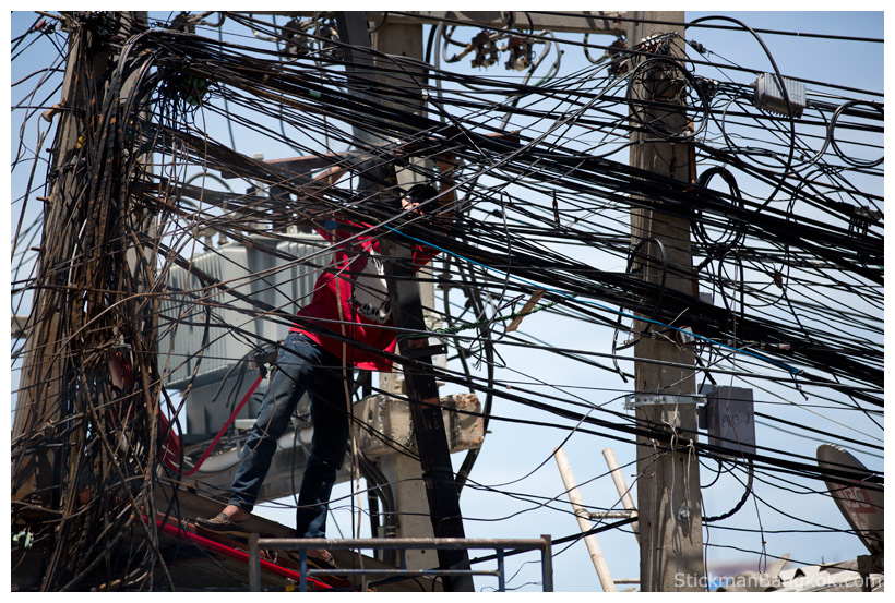 Man dies urinating near electricity pole, Thai police say ...