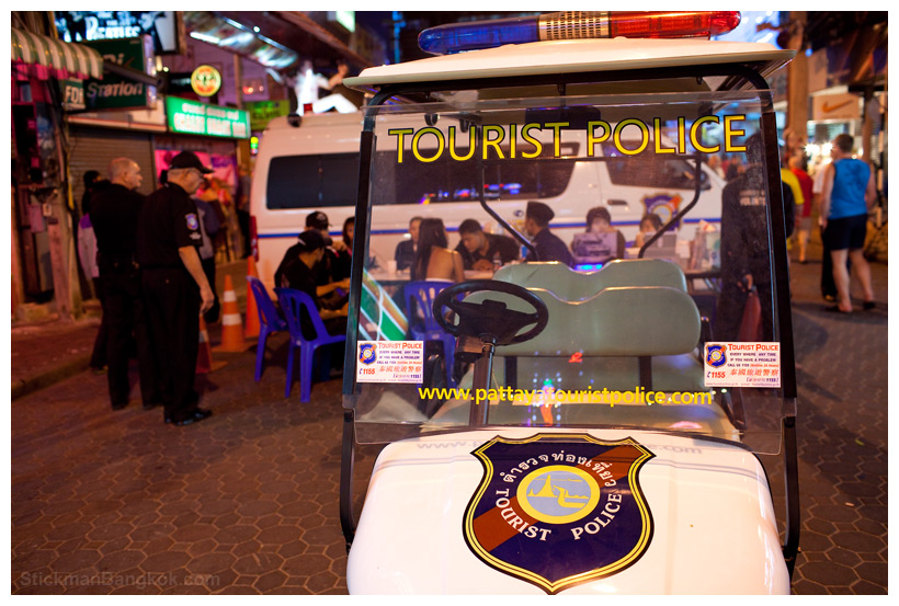 how to become a tourist police in thailand