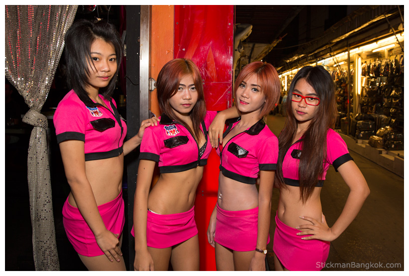 The Strip Patpong coyote dancers