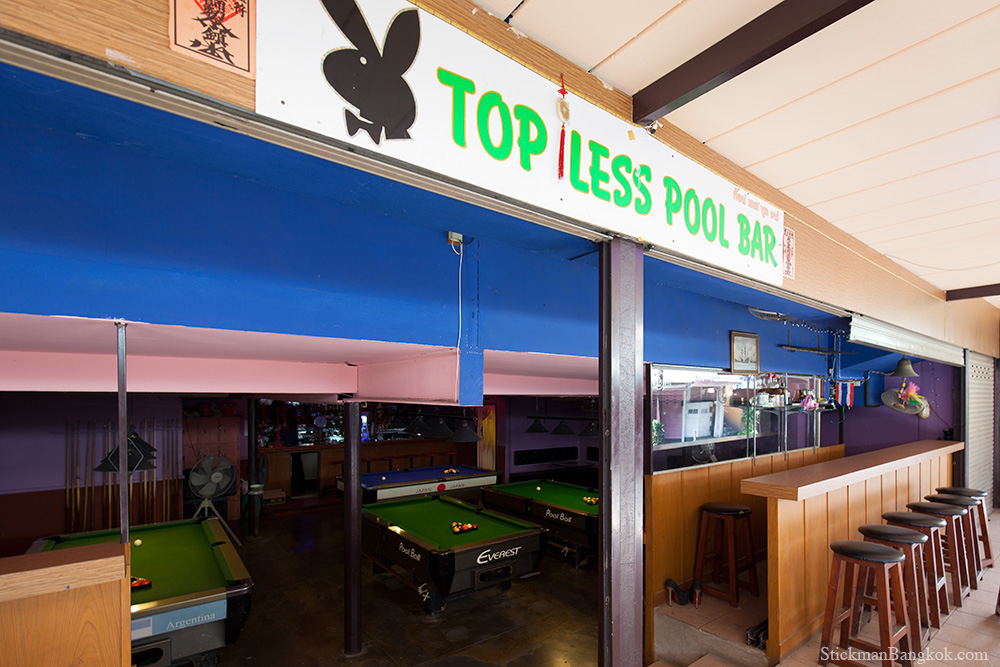 Topless Pool Bar, Patpong